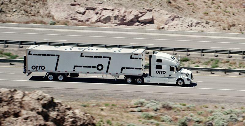 Camion senza conducente