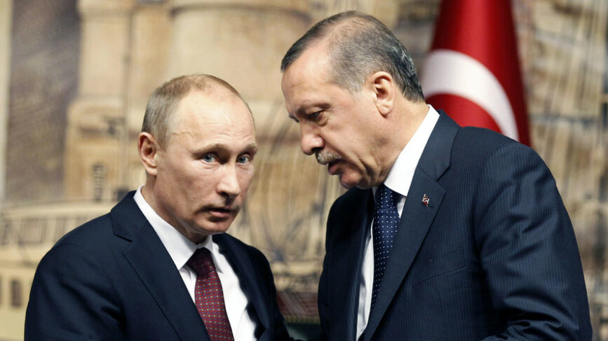 Putin Erdogan Russia