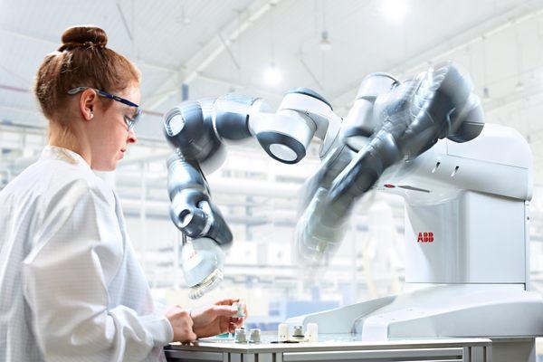 robot a lavoro