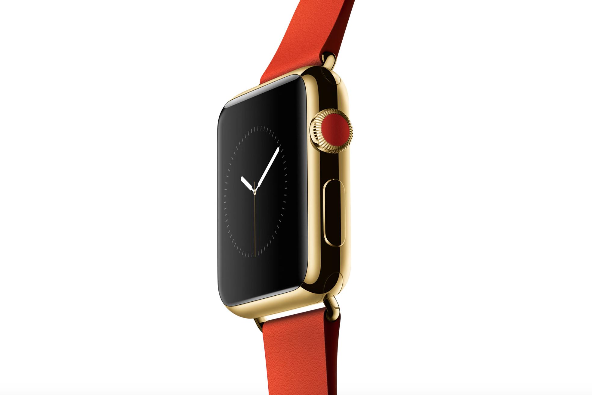 apple watch d'oro