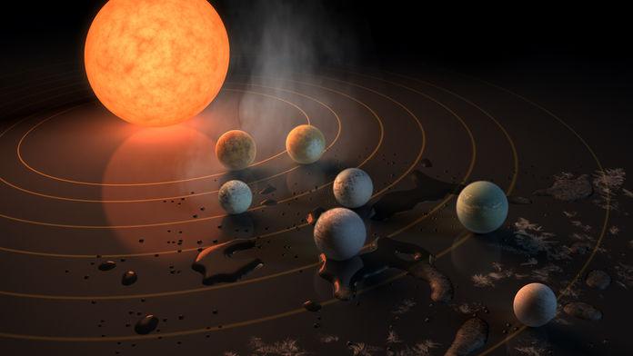 Nasa: scoperto un nuovo sistema planetario. 3 mondi abitabili